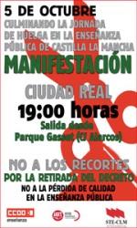 MANIFESTACIÓN EN CIUDAD REAL