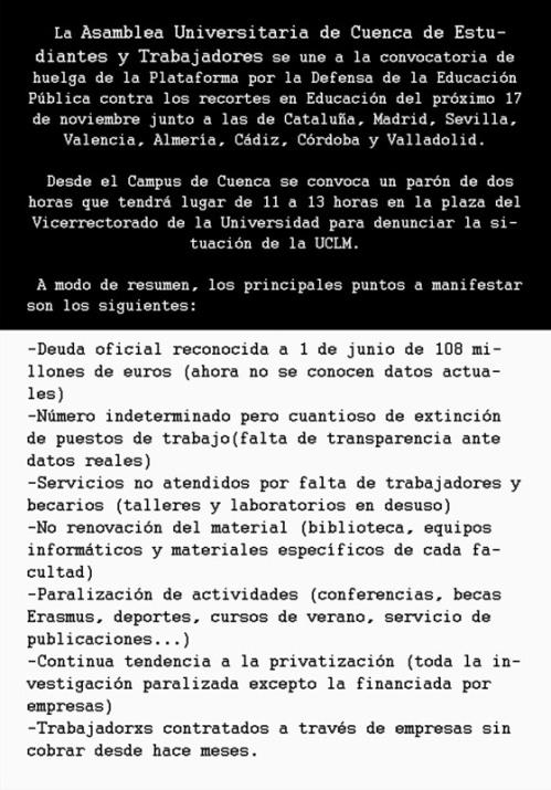 ASAMBLEA UNIVERSITARIA CUENCA