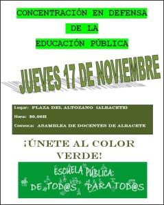 CONCENTRACIÓN EN ALBACETE
