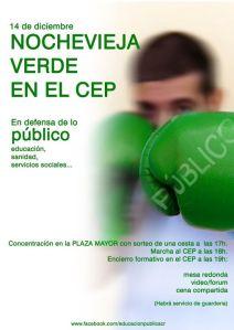 Nochevieja verde en el CeP de Ciudad Real