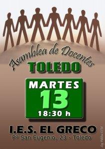 ASAMBLEA DE DOCENTES DE TOLEDO