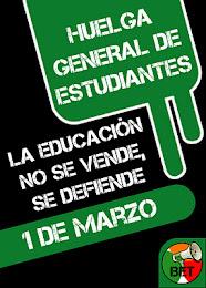 1M HUELGA GENERAL DE ESTUDIANTES