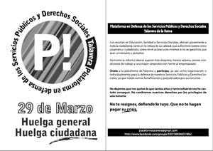 29M Plataforma Servicios Públicos y Servicios Sociales de Talavera