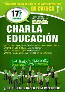 CHARLA EDUCACIÓN 17 MAYO