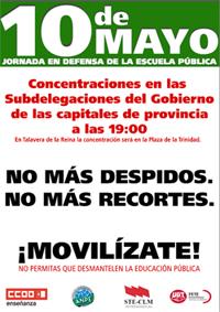 10M Jornada en defensa de la Escuela Pública