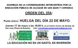 17M Asamblea Intercentros
