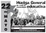 22M: Huelga convocada por el Sindicato de Estudiantes