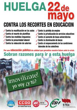22M Huelga en Educación Pública
