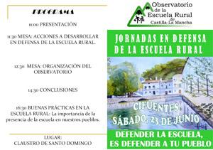 23J Jornadas en defensa de la Escuela Rural