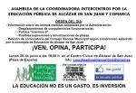 ASAMBLEA INTERCENTROS ALCÁZAR SAN JUAN Y COMARCA