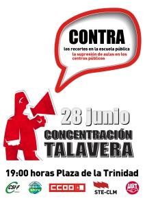 28 junio: Concentración en Talavera de la Reina