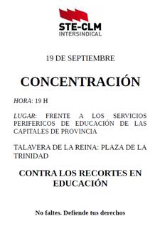 CONCENTRACIÓN 19S