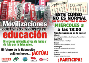 3 Octubre Manifestaciones regionales
