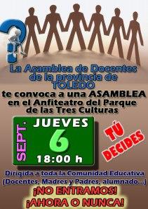 ASAMBLEA TOLEDO 6 SEPTIEMBRE