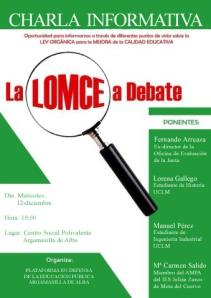 La LOMCE  a debate